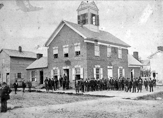 beverly courthouse circa 1880